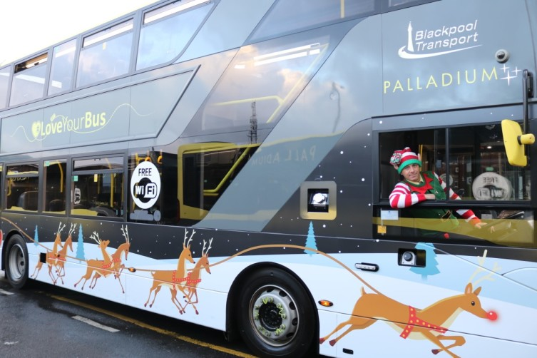 Christmas Joy Comes to Life at Blackpool Transport
