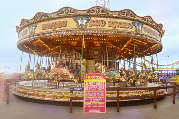 The Blackpool Piers